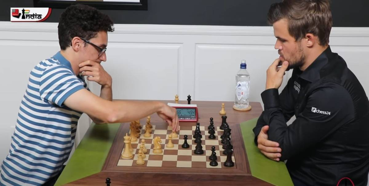 Caruana gets his revenge on Carlsen!