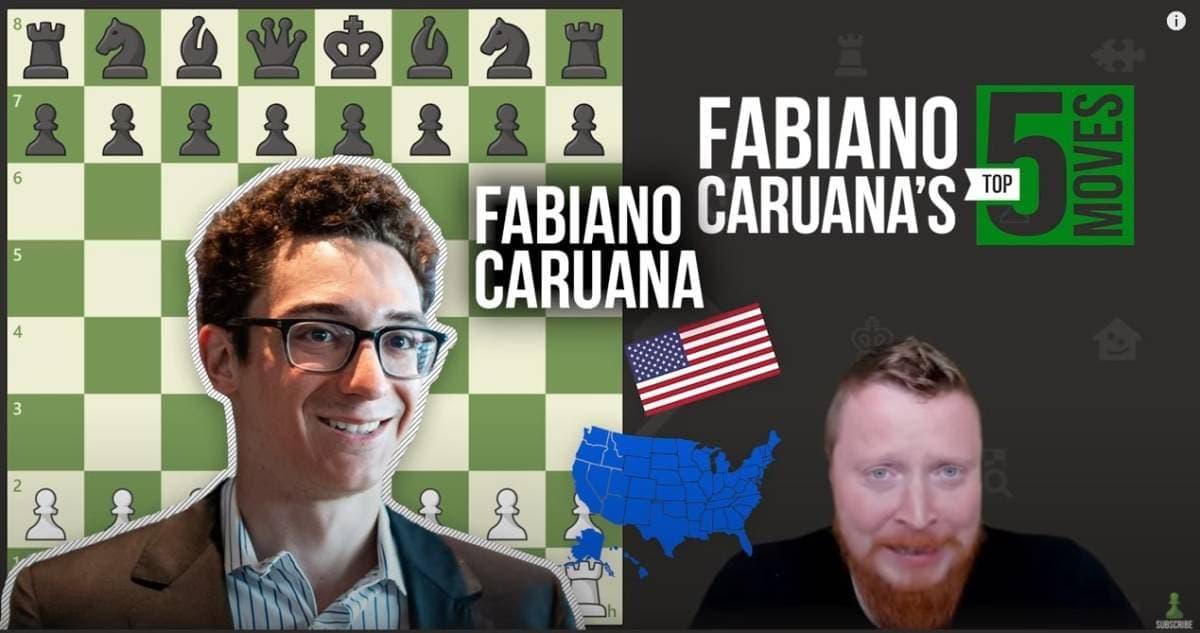 5 brilliant chess moves from Fabiano Caruana