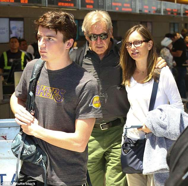 Harrison Ford S Four Sons Get The Ultimate Lowdown Seattle, washington on etsy since 2016. harrison ford s four sons get the